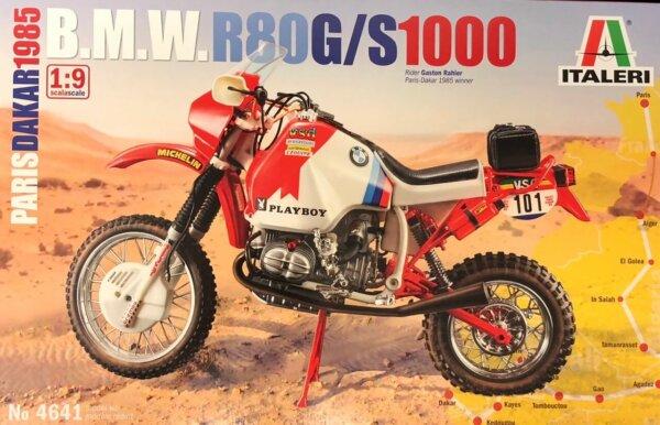 1:12 Scale Tamiya BMW 1000 Dakar 1985 Motorbike Model Kit #1680