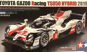 1:24 Scale Tamiya Toyota LMP1 TS050 Hybrid 2019 Model Kit #1659
