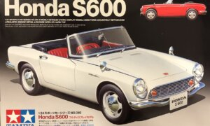 1:24 Scale Tamiya Honda S600 Model Kit #