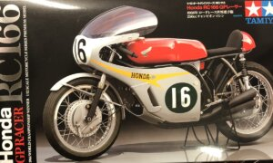 1:12 Scale Tamiya Honda RC166 50th Anniversary Model Kit #