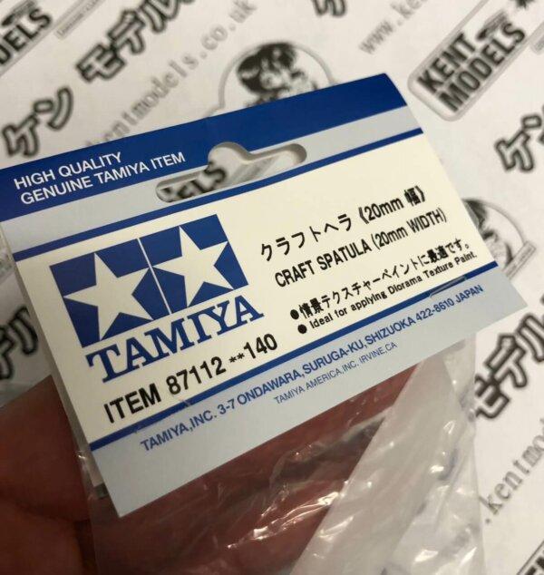 Tamiya Craft Spatula (20mm Width) #