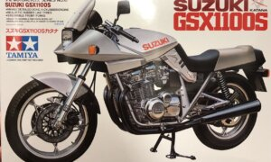 1:12 Scale Tamiya Suzuki GSX1100S Katana Model Kit #