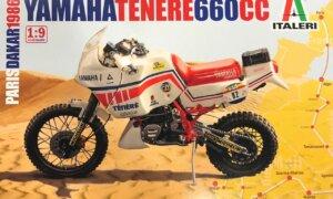 1:12 Scale Tamiya Yamaha Tenere 660 CC 1986 Model Kit