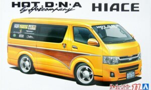 1:24 Scale Toyota Hot Company TRH200V Hiace'12 Model Kit