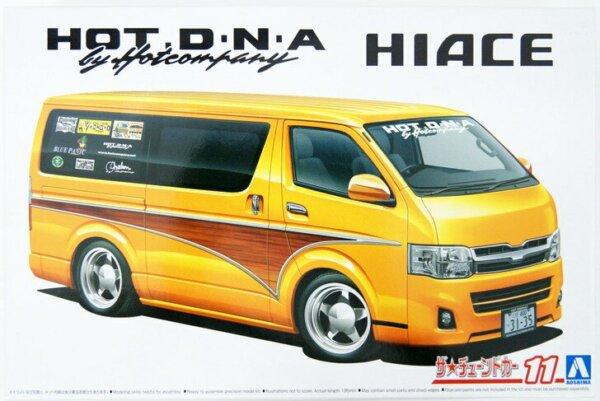 1:24 Scale Toyota Hot Company TRH200V Hiace'12 Model Kit