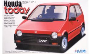 1:24 Scale Fujimi Honda Today G Model Kit