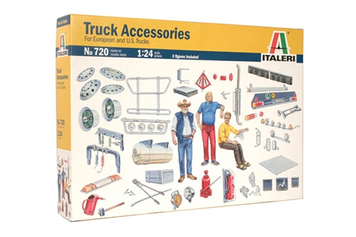 1:24 Scale Italeri Truck Accessories Model Set #