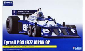 1:20 Scale Tyrrell P34 1977 Japan GP Long Wheel Version Model Kit #