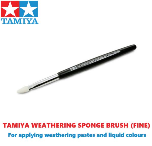 Tamiya Weathering Sponge Fine Brush For Modelling Kits #