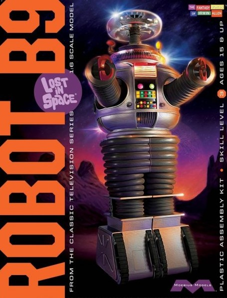 1:6 Scale Moebius Models Lost In Space Robot Model Kit #1668