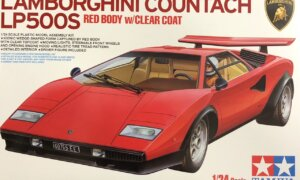 1:24 Tamiya Lamborghini Countach LP500S Model Kit #1679
