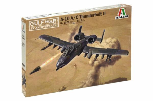 1:72 Scale Italeri A10 A/C Thunderbolt 11 Gulf War Model Kit #1695
