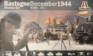 1:72 Scale Italeri WW2 Diorama set- Bastogne December 1944