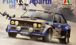1:24 Scale Fiat 131 Abarth Rally #P