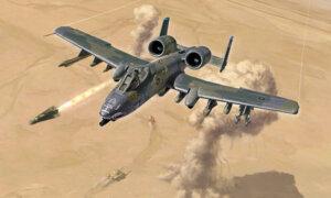 1:72 Scale Italeri A10A/C Thunderbolt 11 Gulf War Model Kit #