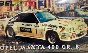 1:24 Scale Opel Manta 400 Group B Jimmy McRae Rally Car Model Kit #p