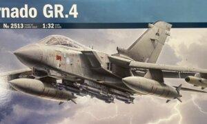 1:32 Scale Italeri RAF Tornado GR.4 Model Kit#1682