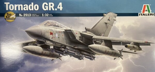 1:32 Scale Italeri RAF Tornado GR.4 Model Kit#1682