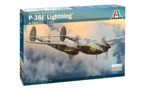 1:72 Scale Italeri P-38J Lightning Plane Model Kit #1689