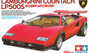 1:24 Tamiya Lamborghini Countach LP500S Model Kit #1679