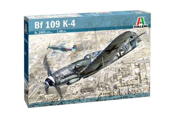1:48 Scale Italeri BF 109 K-4 Plane model kit #1687