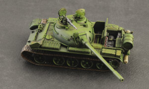 1:72 Scale Italeri T-55 A Tank Model Kit #1688