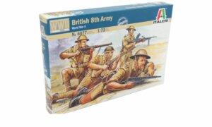 1:72 Scale Italeri WW2 Diorama Models - British 8th Army # 1720