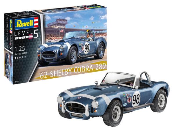 1:25 Scale Revell 62' Shelby AC Cobra #1698