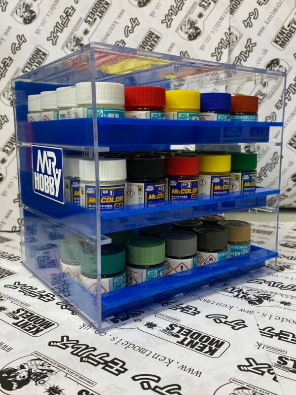 Mr Hobby Mr Storage Stand 3 shelves For Paints *Awesome* #p