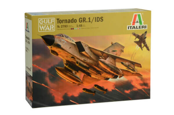 1:48 Scale Italeri Tornado IDS Model Kit # 1711