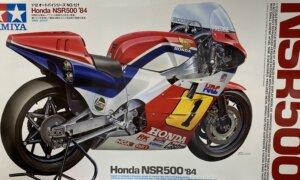 1:12 Scale Honda NSR 500 84' Model Bike Kit #