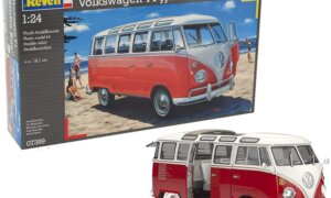 1:24 Scale Revell VW Samba Bus (Beach) #1701