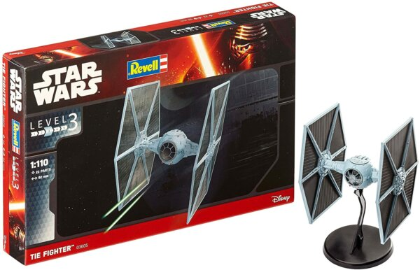 1:110 Scale Revell Imperial Tie Fighter Model Kit #1704
