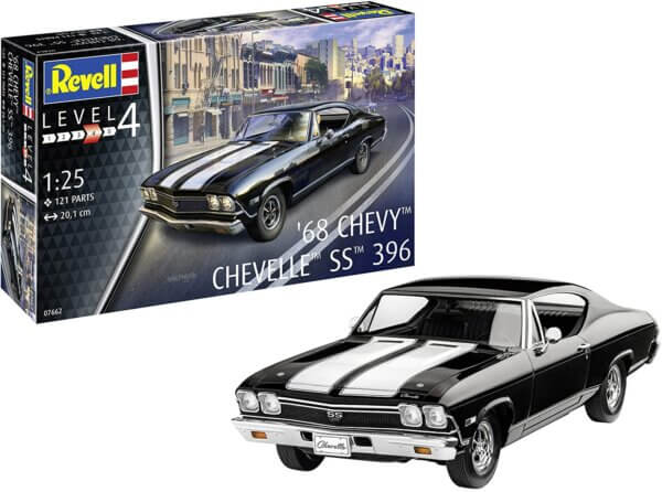1:25 Scale Revell 68' Chevy Chevelle #1696