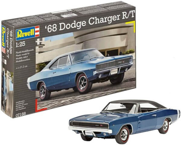 1:25 Scale Revell 68' Dodge Charger R/T #1697