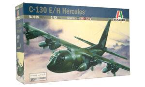 1:72 Scale Italeri C-130 E/H Hercules Model Plane Kit #