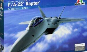 1:72 Scale Italeri F-22 Raptor c #p