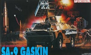 1:35 Scale Dragon SA-9 Gaskin LTD Tank Model Kit