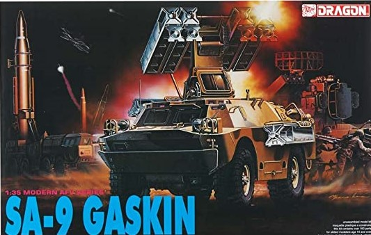 1:35 Scale Dragon SA-9 Gaskin LTD Tank Model Kit