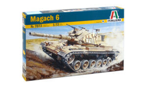 1:72 Scale Italeri Magach 6 Model Kit # 1726