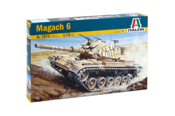 1:72 Scale Italeri Magach 6 Model Kit # 1726
