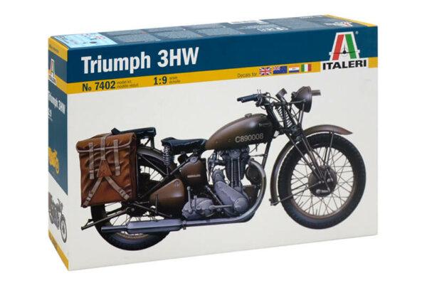 1:9 Scale Italeri Triumph Military 3HW Solo Model Kit # 1713