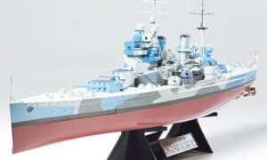 1:350 Scale Tamiya British King George V Ship Model Kit # 1724