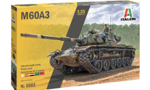 1:35 Scale Italeri M60A3 Tank Model Kit #