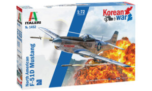1:72 Scale Italeri  North-American F-51D Mustang Korean War #p