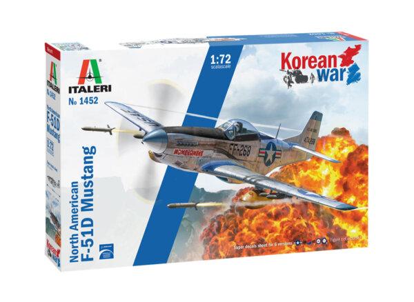 1:72 Scale Italeri  North-American F-51D Mustang Korean War #p