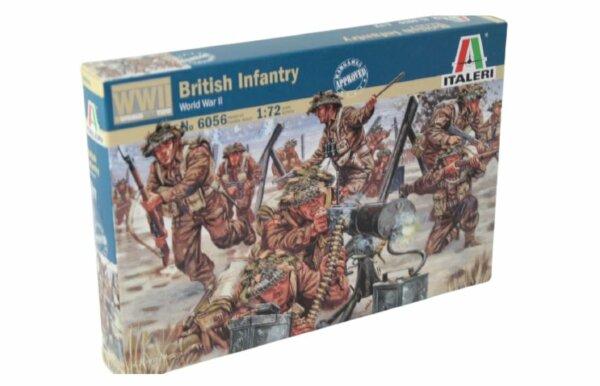 1:72 Scale Italeri WW2 Diorama Models - British Infantry #1718
