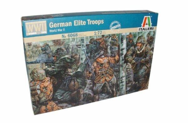 1:72 Scale Italeri WW2 Diorama Models - German Elite Troops #1716