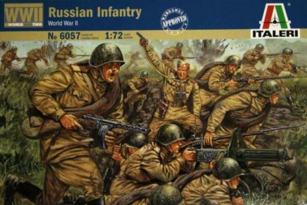 1:72 Scale Italeri WW2 Diorama Models – Russian Infantry #1715