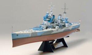 1:350 Scale Tamiya British King George V Ship Model Kit # 1724